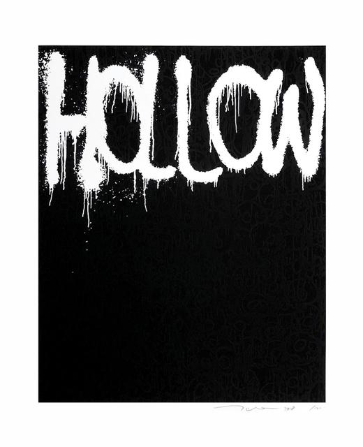 Takashi Murakami, 'Hollow (black)', 2018, Fineart Oslo
