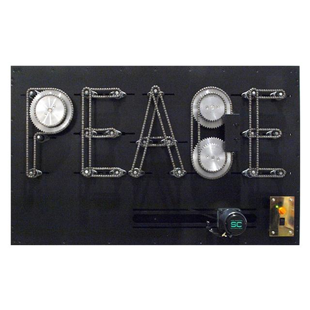 , 'PEACE Machine #2,' 2015, Tezukayama Gallery