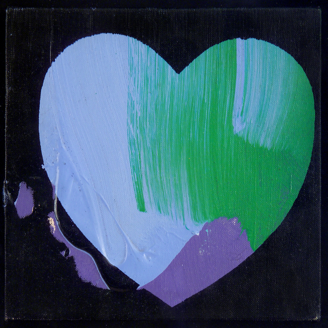 Andy Warhol, 'Hearts', 1979, Painting, Acrylic and silkscreen on canvas, Leila Heller Gallery