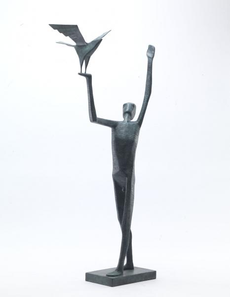 , 'Man Releasing Bird,' 2016, Pangolin