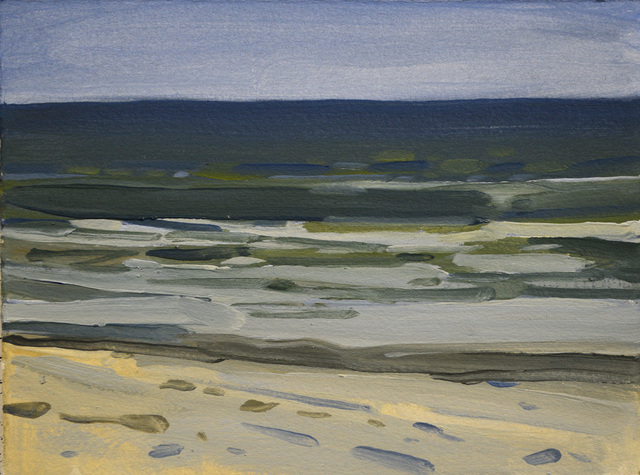, 'Holden Beach Rollers 5,' 2018, Richard Levy Gallery