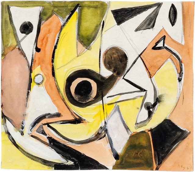 , 'Ohne Titel,' 1951, Bode Gallery