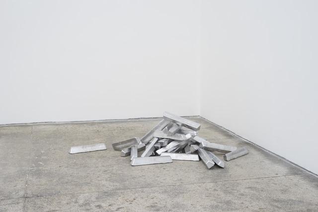 Johannes Wald, 'John Forest - Sculptor Lying Dormant', 2019, Daniel Marzona