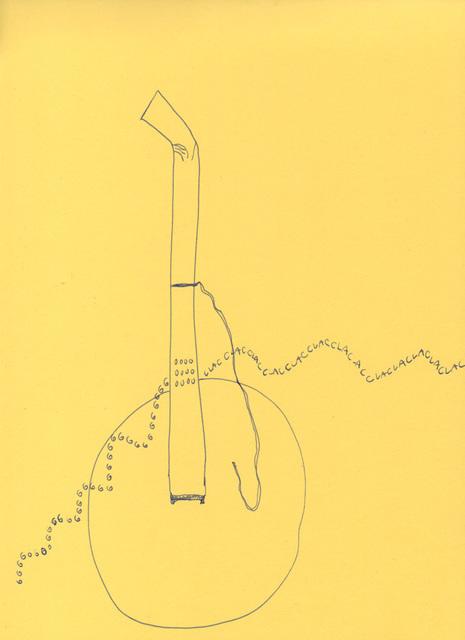 Celina Eceiza, 'Serie ¿donde esta la hora? . Dibujos de obra sonora para esculturas', 2015, Big Sur Galería