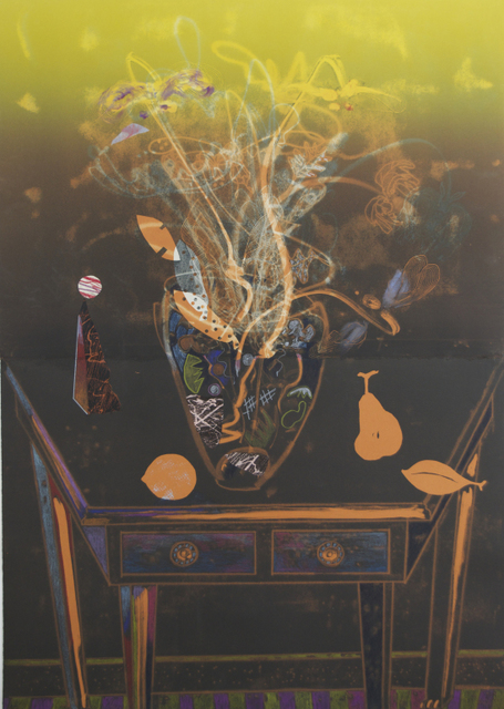 , 'Shaker Table with Red Pear,' , The White Gallery