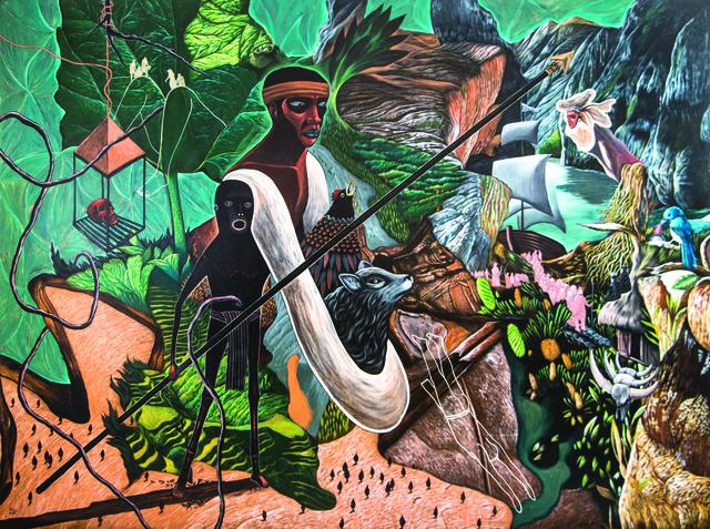 , 'Alamat ni Lam-ang,' 2012, Ayala Museum