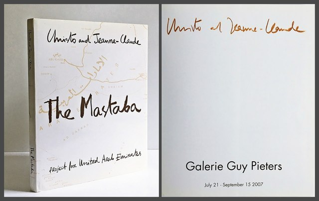 Christo and Jeanne-Claude, 'The Mastaba Project for United Arab Emirates (Hand Signed by Artist)', 2007, Alpha 137 Gallery