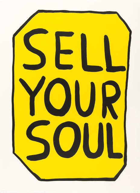 , 'Sell Your Soul,' 2012, Hang-Up Gallery