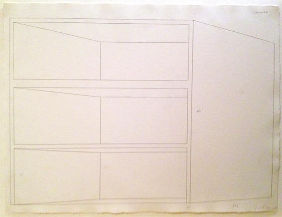 , 'Concrete drawing,' 1974, Simoens Gallery