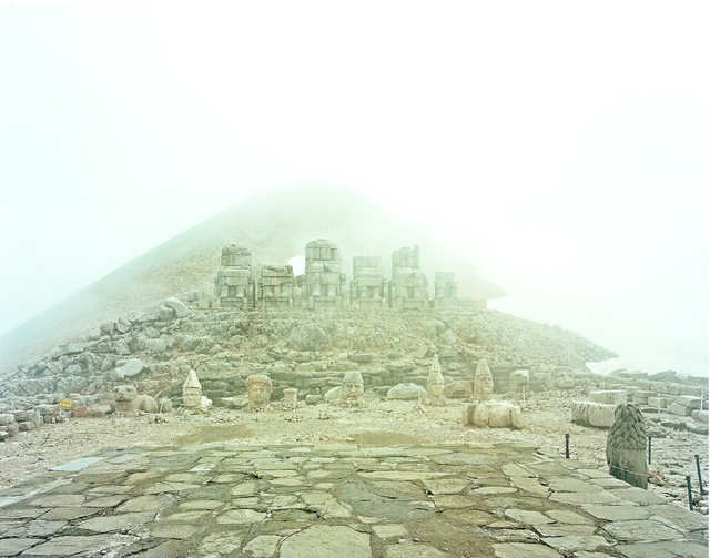 , 'Mount Nemrut, Turkey, from the series 'Imperium Romanum',' 2011, Kicken Berlin