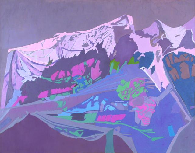 , 'Purple Net,' 1994, Walter Wickiser Gallery