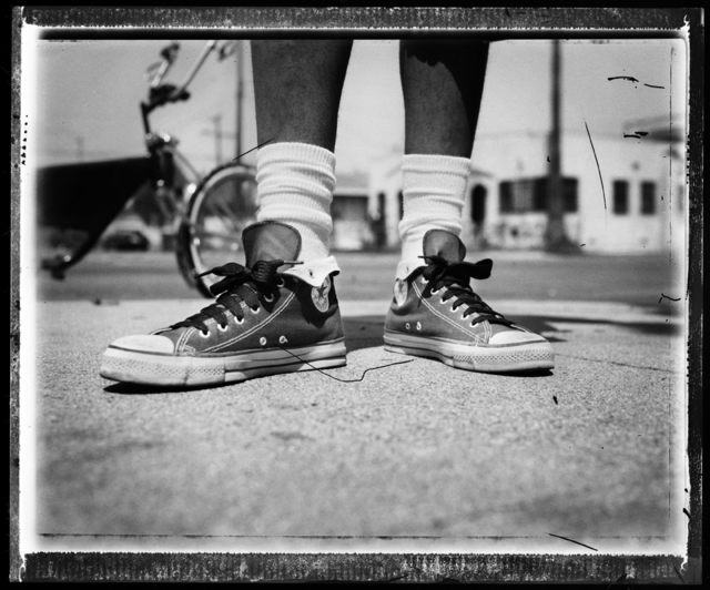 , 'Chuck Taylors / Compton CA ,' , Milk Gallery
