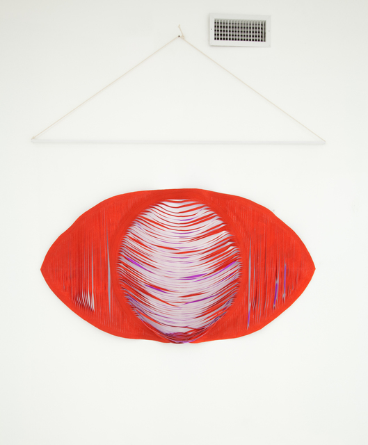 , 'Red Eye Wall Hanging,' 2012, Nina Johnson