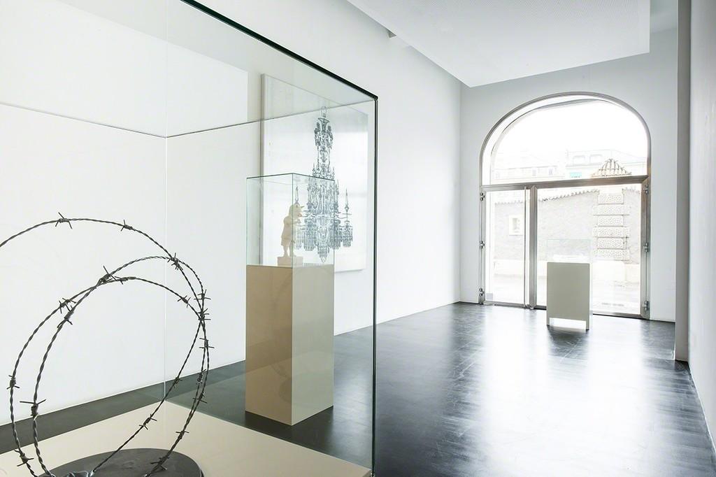 Urs Lüthi & Arnold Mario Dall'O, Exhibition view, Photo: Ulrich Egger