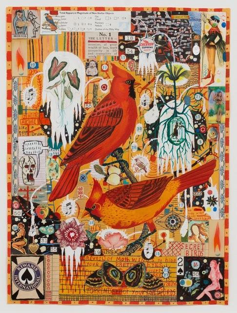 Tony Fitzpatrick, 'Secret Birds', ZQ Art Gallery