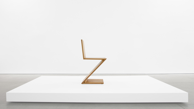 , 'Zig-Zag Chair,' ca. 1969, Peter Blake Gallery