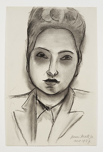 , 'Head of a woman,' 1947, American Federation of Arts