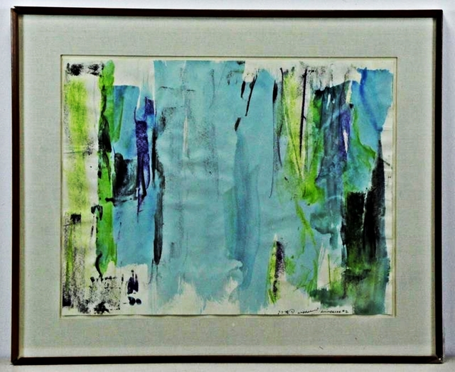 , 'Untitled Abstract Expressionist painting,' 1975, Alpha 137 Gallery