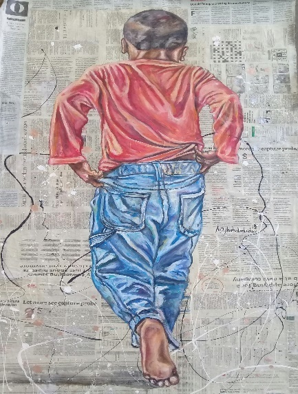 , 'Boy With Blue Trousers,' , Opulent Living Gallery