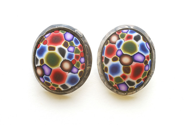 , 'Button Earrings #88,' 2014, form & concept