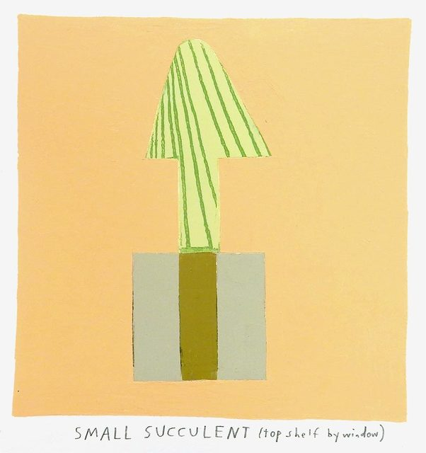 , 'small succulent,' 2017, Uprise Art