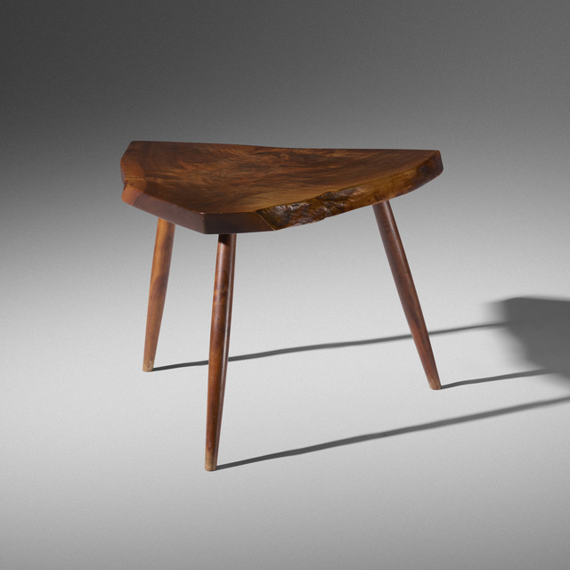 George Nakashima, 'Wepman occasional table', c. 1960, Wright