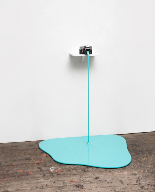 , 'Farbfoto (Cyan),' 2015, Mario Mauroner Contemporary Art Salzburg-Vienna