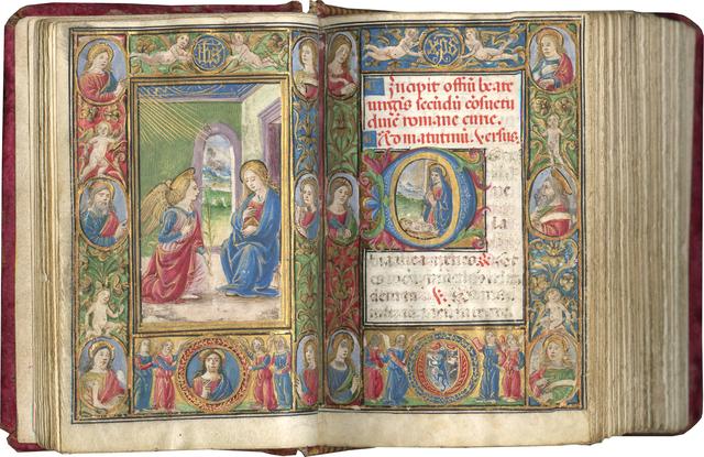 , 'The Calcagni Hours,' September 7-1508 , Les Enluminures