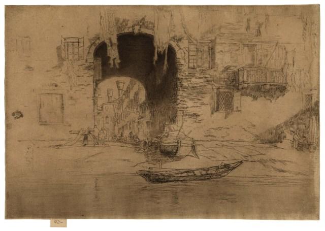 , 'San Biagio,' 1879, Harris Schrank Fine Prints