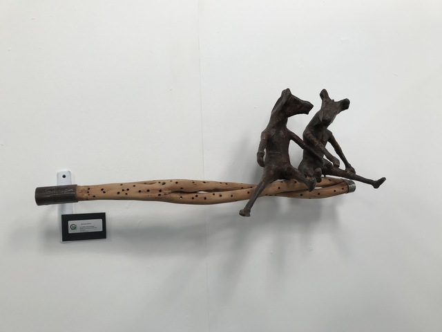 , 'Lu nëbbu doon kumpa (What is covered excites curiosity),' ca. 2018, Galerie Galea