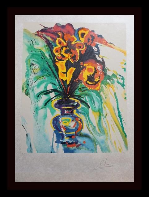 Salvador Dalí, 'Fleurs Surréaliste Gala's Bouquet', 1980, Print, Lithograph, Fine Art Acquisitions Dali