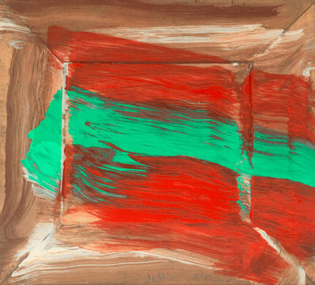 Howard Hodgkin, 'Red Flowers', 2015, michael lisi / contemporary art