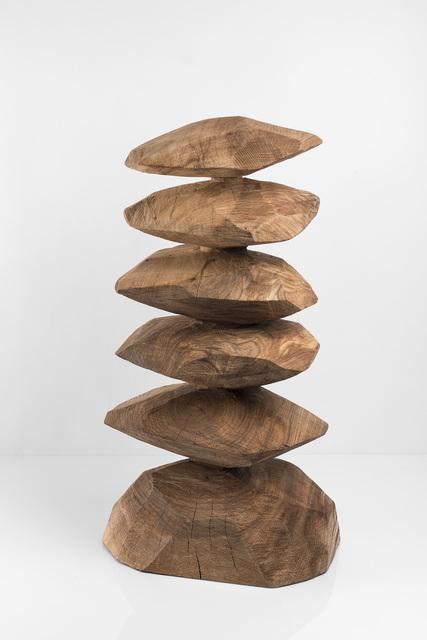 , 'Elm column,' 2016, Galerie Lelong & Co.