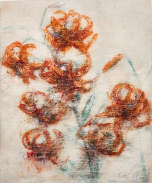 , 'Feuerlilien,' 1937, Galerie Utermann