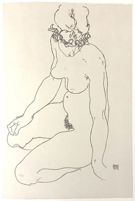 , 'Kneeling Female Nude, Turning to Right,' 2007, Wallector