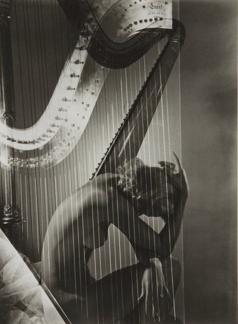 Horst P. Horst, 'Nude (Lisa and Harp, Paris)', Sotheby's