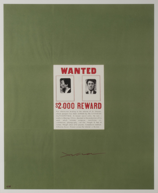 , 'WANTED,' 2014, Thomas French Fine Art