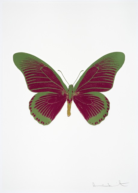 , 'The Souls IV- Fuchsia Pink/Leaf Green/Oriental Gold,' 2010, Paul Stolper Gallery