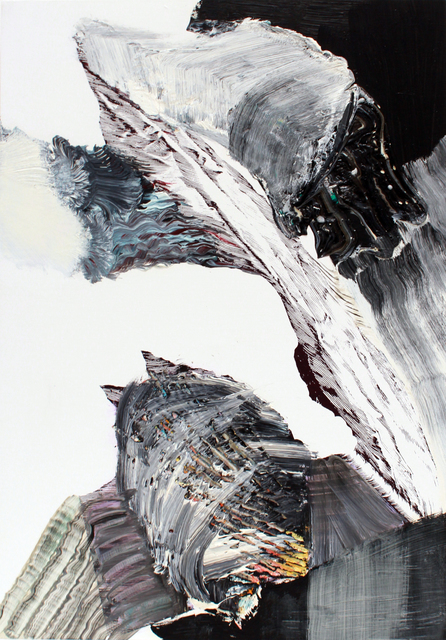 , 'fahnenbild e2,' 2012, Talley Dunn Gallery