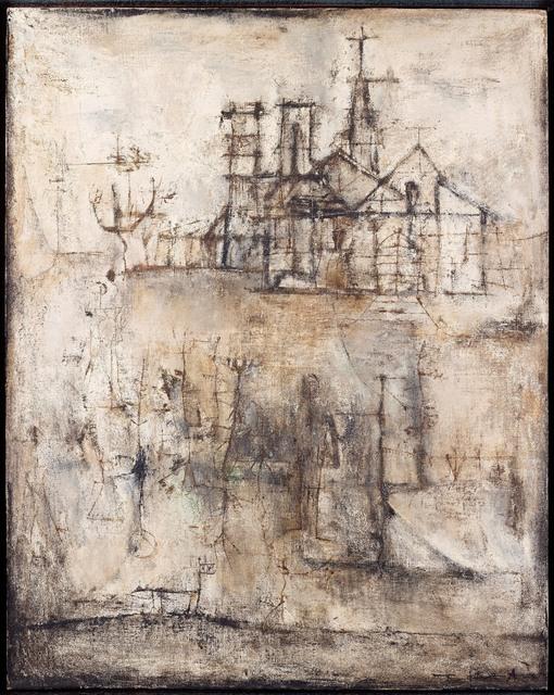 , 'La Cathédrale,' 1951, Applicat-Prazan