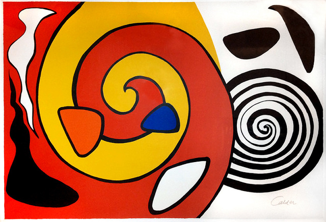 Alexander Calder, 'Escargot', 1976, Eckert Fine Art