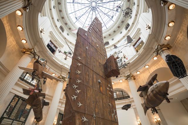 Cai Guoqiang 蔡国强, 'Installation view of Cai Guo-Qiang: Da Vincis do Povo, Centro Cultural Banco do Brasil, Rio de Janeiro', 2013, Cai Studio