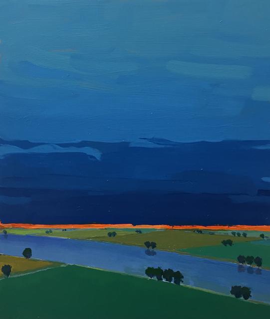 John Karl Claes, 'Primary Landscape (Blue)', ÆRENA Galleries and Gardens
