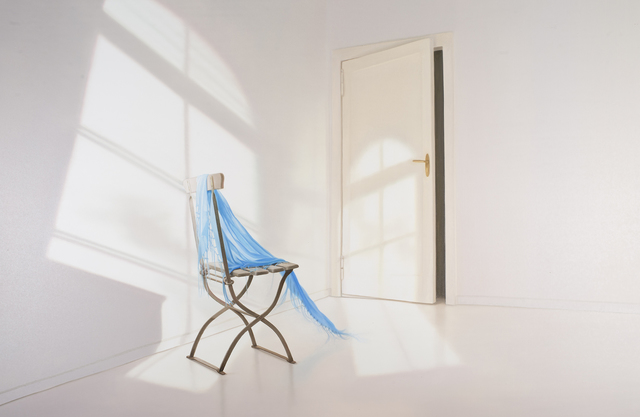 , 'Room With blue cloth,' 217, GALLERIA STEFANO FORNI