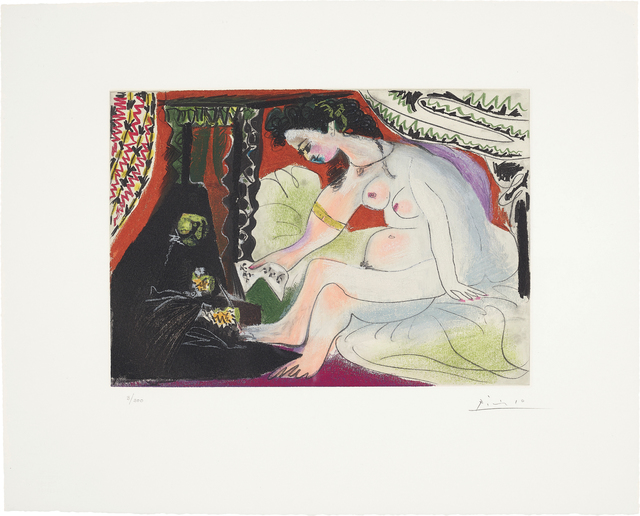 Pablo Picasso, 'Bethsabée (Bathsheba)', 1966, Phillips