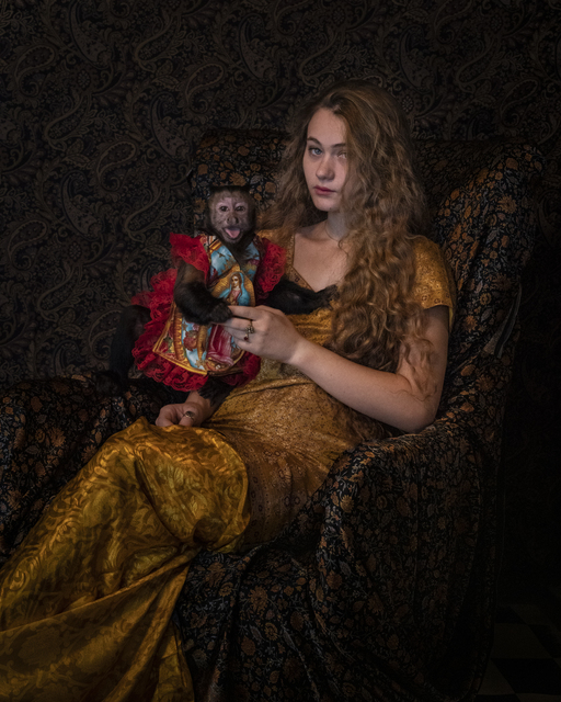 Robin Schwartz, 'Guadalupe Gold, Emily and Amelia Series, 2018', 2018, Photography, Photograph, Aperture Foundation Benefit Auction
