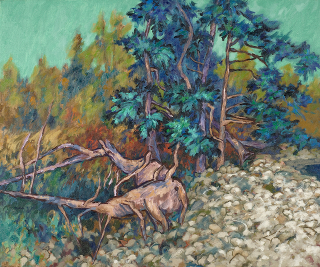 , 'Spruce Trees on Cranberry Island, Maine,' 1974, Caldwell Gallery Hudson