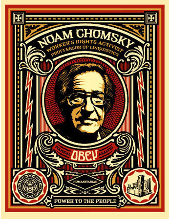 , 'Noam Chomsky,' 2004, KP Projects