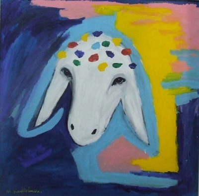 , 'Colorful Sheep,' 1997, Dan Gallery