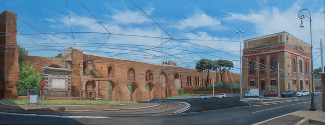, 'Porta Maggiore Traffic Circle,' , Robert Simon Fine Art